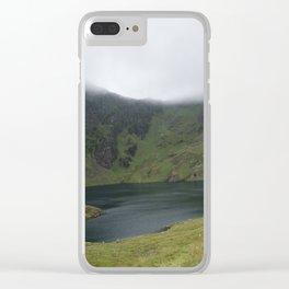 Wales Landscape 15 Cader Idris Lake Clear iPhone Case