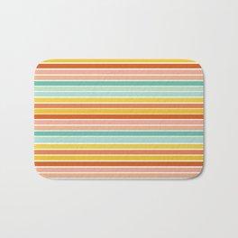 Over Striped Bath Mat