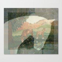 """""""Horses"""" Canvas Print"""