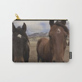 Horses Before the Storm Carry-All Pouch