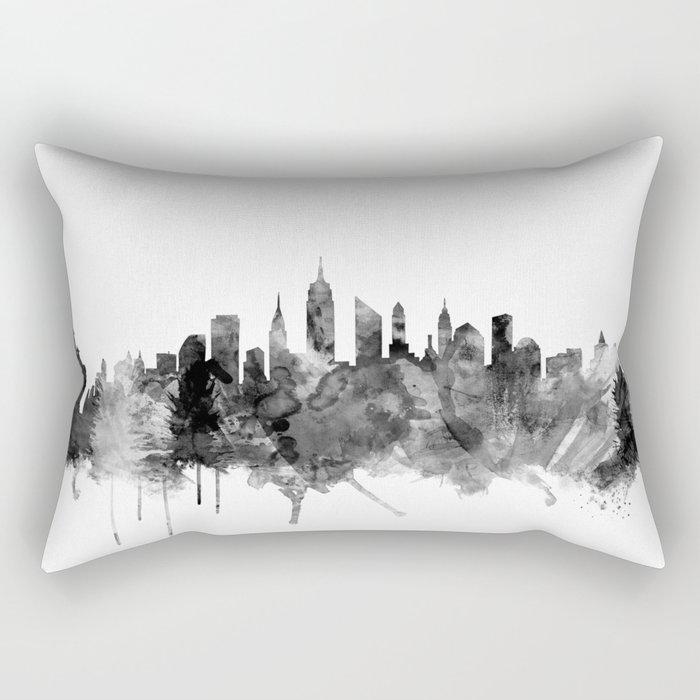 aebcb4444dd New York City Skyline Rectangular Pillow by artpause