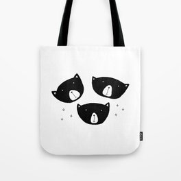 Black Bears Tote Bag