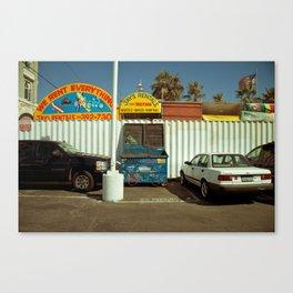 Carpark Canvas Print