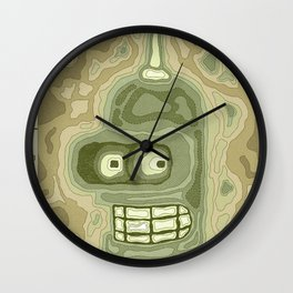 Popography: Bender Basin Wall Clock