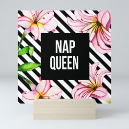 Nap Queen Mini Art Print