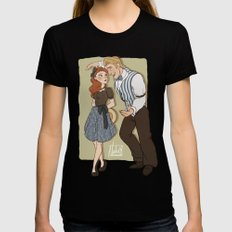 And Then We Meet - 1940 AU Black Womens Fitted Tee SMALL