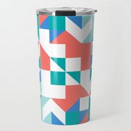 Angled Reflected Artwork Travel Mug