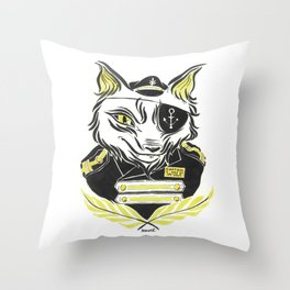 Sea Wolf Throw Pillow