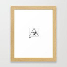 Bio-hazard Framed Art Print