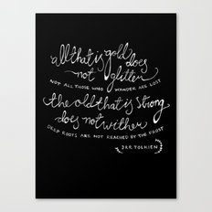 all that is gold Canvas Print