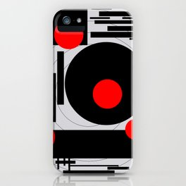 Optical Red iPhone Case