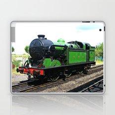Vintage Steam railway engine Laptop & iPad Skin