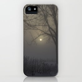 A Cold Winter Morning in Wisconsin iPhone Case