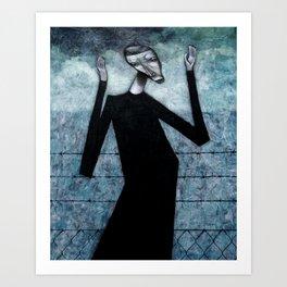 Kafka Dreaming Art Print