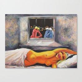 Yip Yipflow Canvas Print