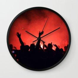 Barcelona party Wall Clock
