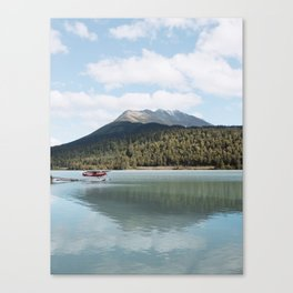 Seaplane in Seward, AK Canvas Print