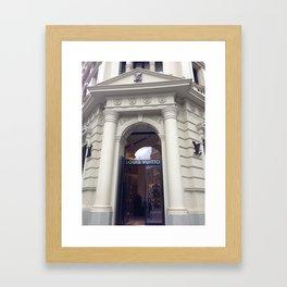 Classy LV Building- Melbourne, Australia Framed Art Print