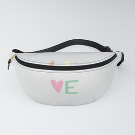 Live Fanny Pack