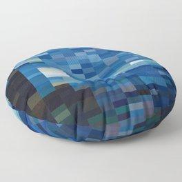 Starry Night Mosaic Floor Pillow