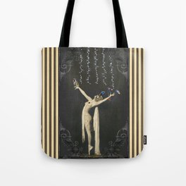 Those Flying Fish under the Fairy Lights Tote Bag