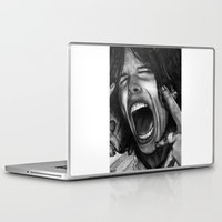 tyler spangler Laptop & iPad Skins featuring Steve Tyler by ''Befne''