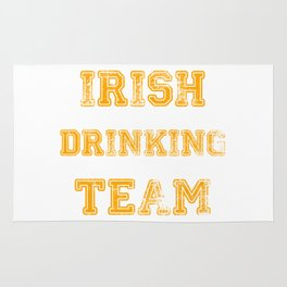 Irish drinking team Rug
