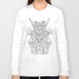 Kaiju Emblem Long Sleeve T-shirt