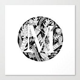 Woodsy M Canvas Print