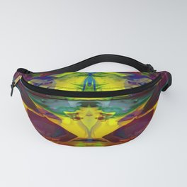 Distorted Flora 2 Fanny Pack