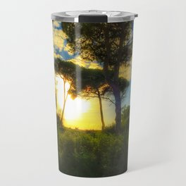 Rota Spain trees 2 Travel Mug