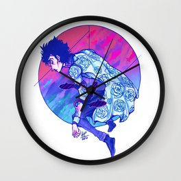 Little Chromatic Submarines Wall Clock