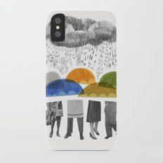 cloudy days for uppercase mag Slim Case iPhone X