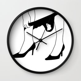 Up or down Wall Clock
