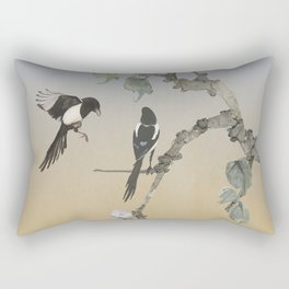 Magpies Rectangular Pillow