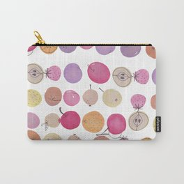 Fruits - Water colour - white Carry-All Pouch