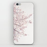 cherry blossom iPhone & iPod Skins featuring cherry blossom by Neon Wildlife