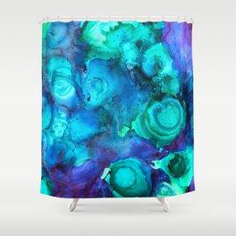 Blue & Green should be seen 2 Shower Curtain