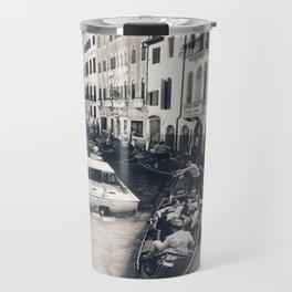 Canal Traffic Travel Mug