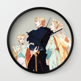 Veretian Royal Family Wall Clock