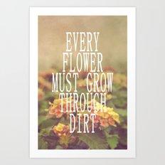 Every Flower Art Print