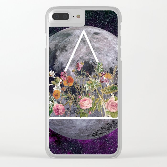 BLOOMING Clear iPhone Case