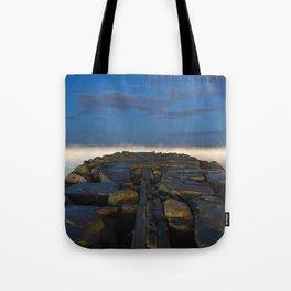 Cloudy Horizon Tote Bag
