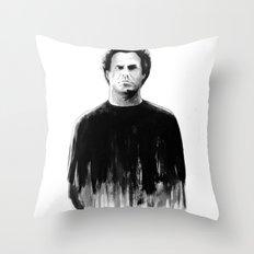 DARK COMEDIANS: Will Ferrell Throw Pillow