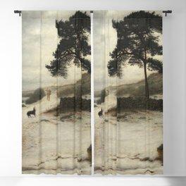John Everett Millais - Blow Blow Thou Winter Wind Blackout Curtain