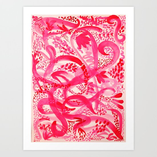 Pink Spirit Art Print