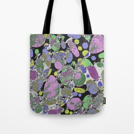 Crazy Paving - Abstract, textured, pastel coloured artwork Tote Bag