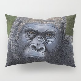 Endangered Gorilla Pillow Sham