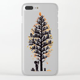 Hoot Lodge Clear iPhone Case