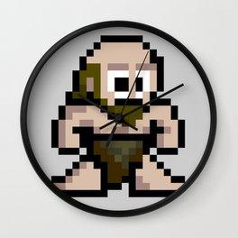 8Bit Caveman Wall Clock